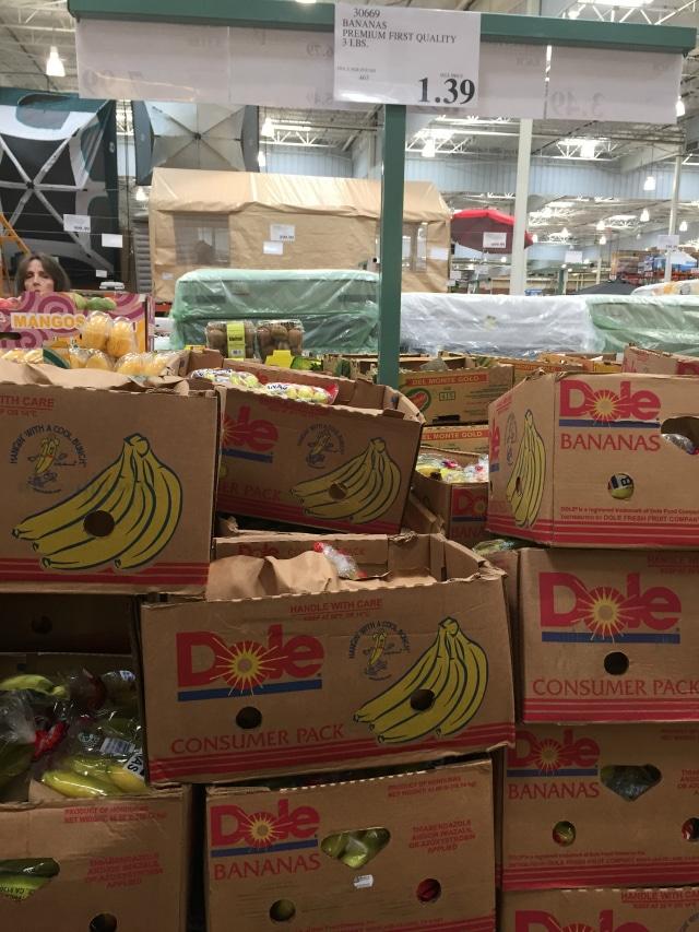 bananas from Costco