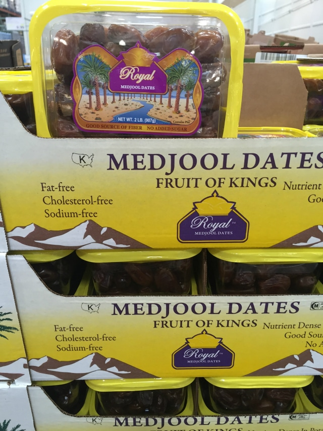Dates from Costco
