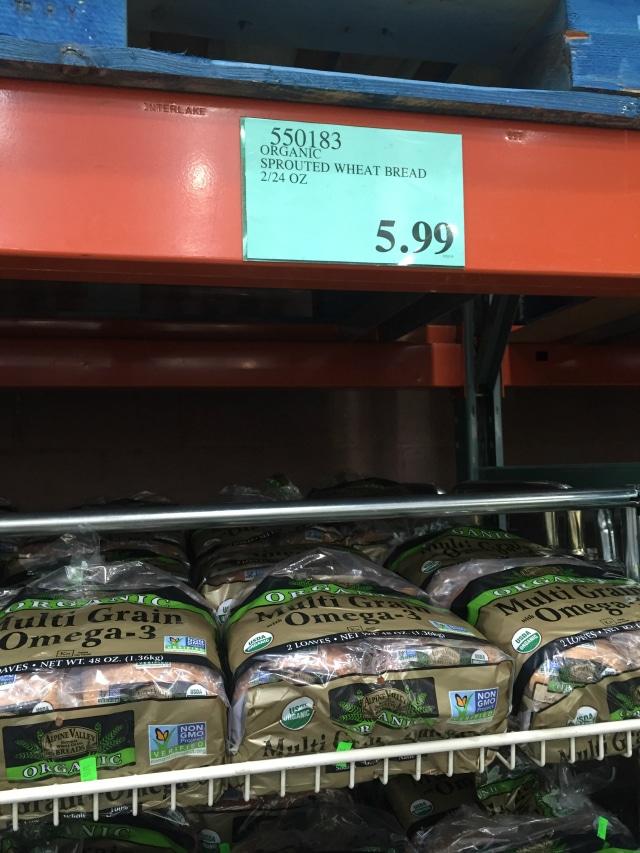 Bread from Costco