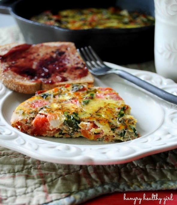 A light and tasty vegetable frittata, perfect for any meal!