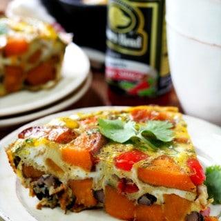 Sweet Potato Black Bean Frittata