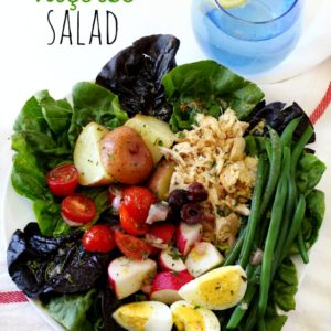 This salad is healthy and light, but has plenty of soul and has become my new favorite salad. The Niçoise Salad has truly become a regular in this household!