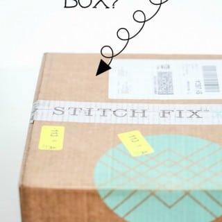 Stitch Fix #3