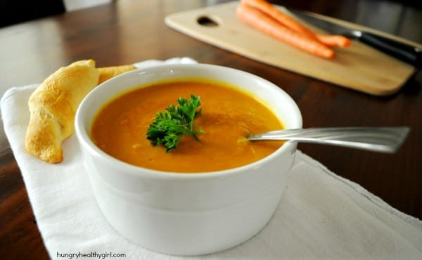 A light flavorful soup that is wonderful served with brown rice.