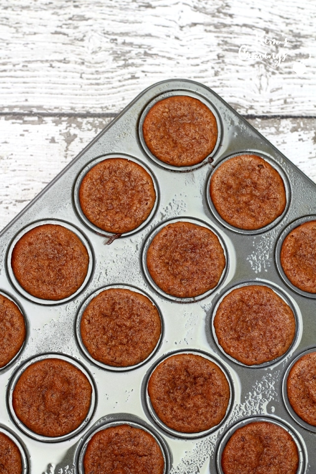 No flour, no refined sugar, no oil- I cannot believe how absolutely scrumptious these Flourless Strawberry Almond Butter Mini Blender Muffins tasted! (gluten-free, dairy-free, Paleo)