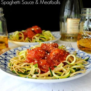 With one taste of this authentic Italian spaghetti sauce and meatball recipe; I'm taken back to my childhood and eating dinner with my grandparents. This full flavored sauce and tasty meatballs are a must try!