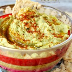 With this easy tahini-free hummus recipe, you don't need tahini to create a super flavorful hummus dip!!!