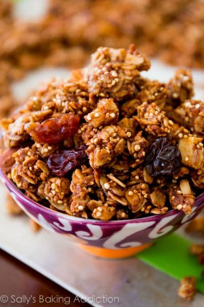 Apple-Spice-Quinoa-Granola