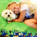 DIY Puppy Pillow + Natural Dog Food