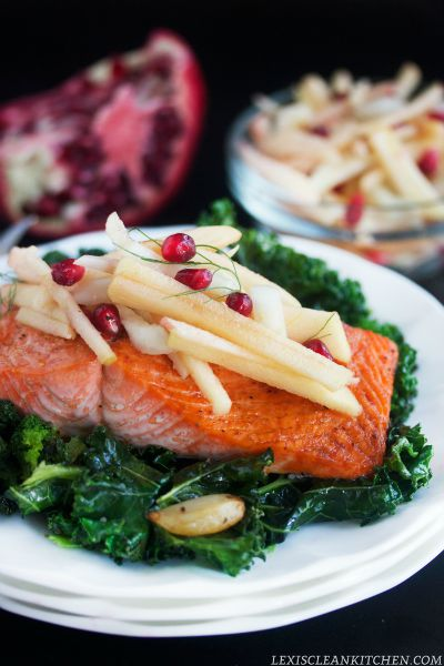 RoastedSalmonKaleAppleFennelSalad