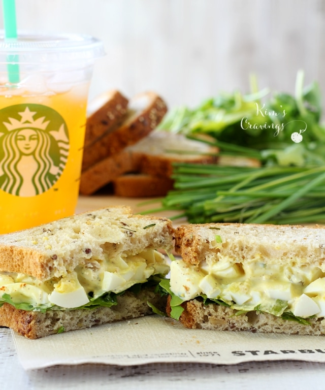 Are you a fan of the Starbucks egg salad? You're so going to love my healthier, just as scrumptious version!