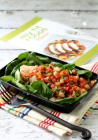 The Pear Salmon entree from My Fit Foods was delish!