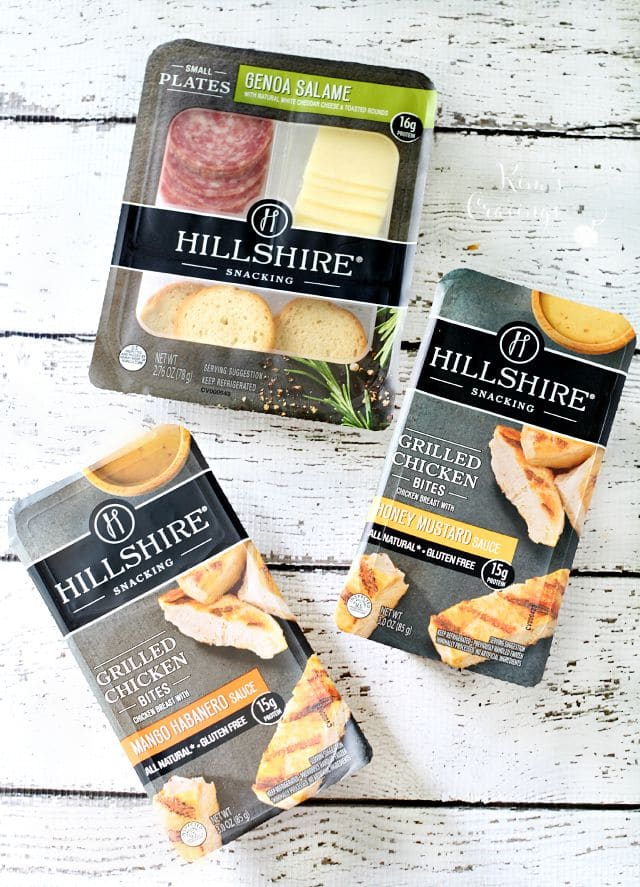 A snack above with Hillshire Snacking
