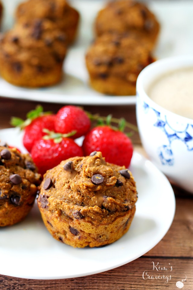 Perfectly sweetened, wonderfully spiced, one-bowl Chocolate Chip Pumpkin Muffins are a cinch to whip up and will fill your autumn morning with deliciousness!