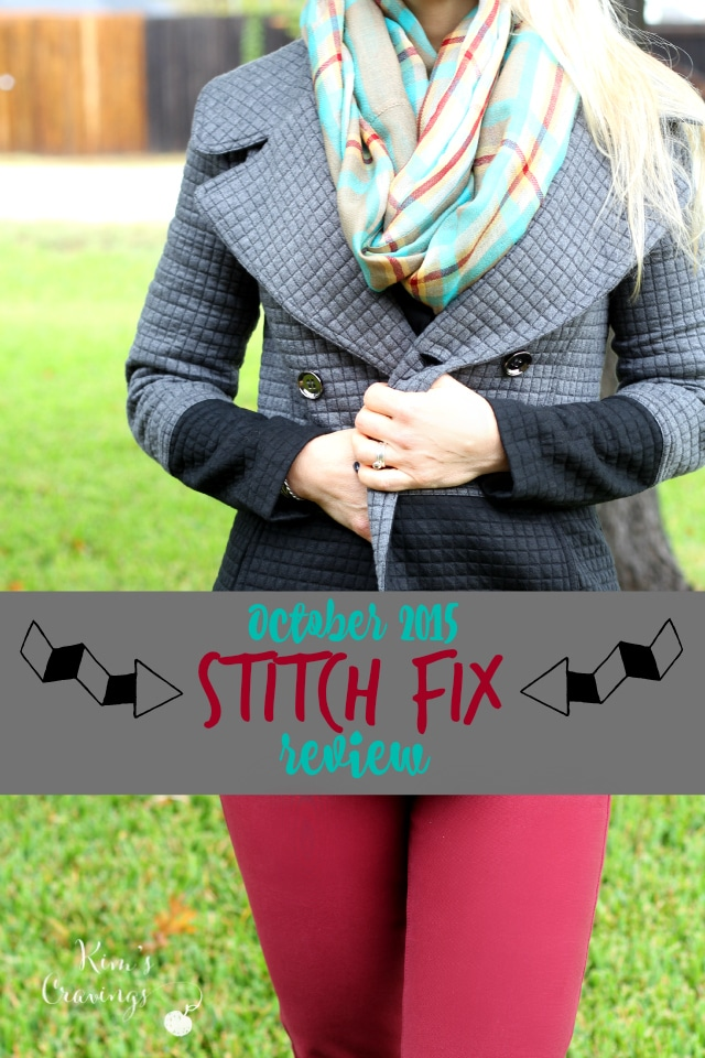 Sharing the goods from my October 2015 Stitch Fix shipment!