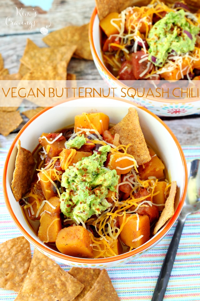 Vegan Butternut Squash Chili Kim S Cravings