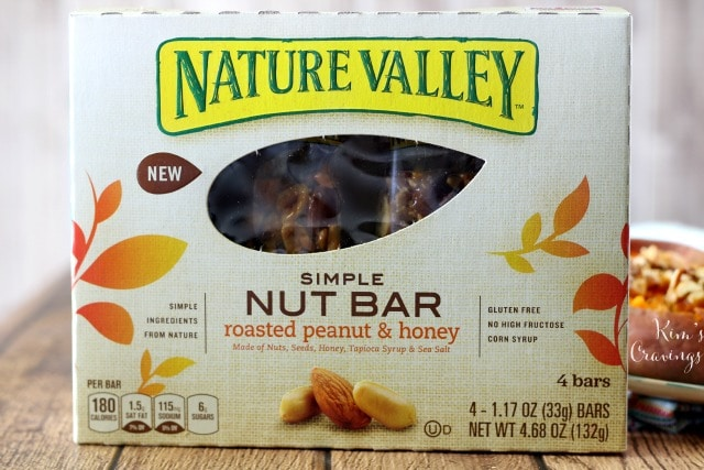 Breakfast Sweet Potato with Nature Valley
