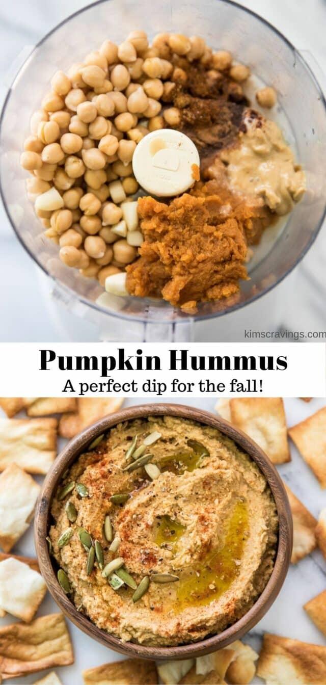 how to make pumpkin hummus