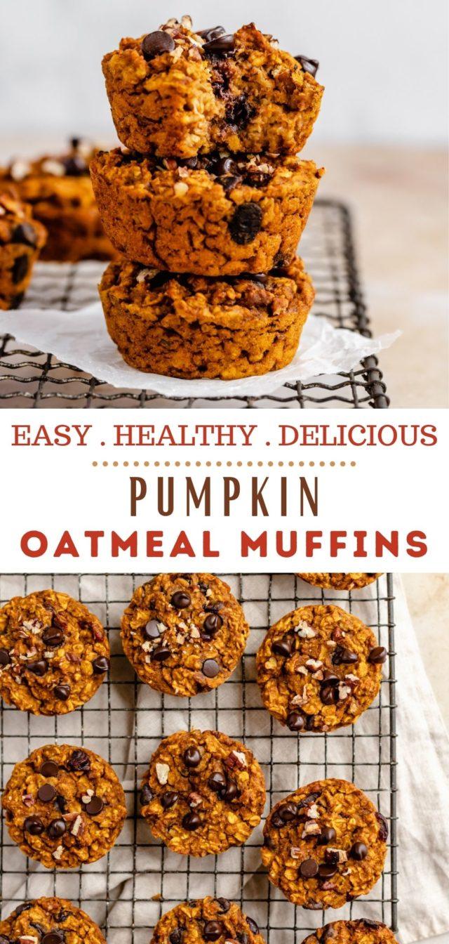 recipe for Pumpkin Oatmeal Muffins