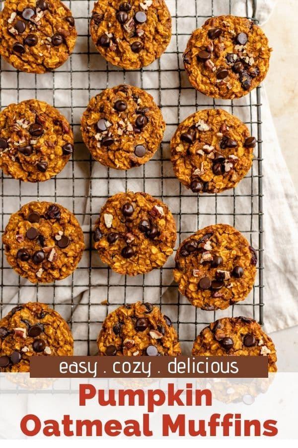 how to make Pumpkin Oatmeal Muffins