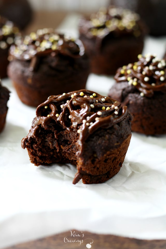 Chocolate Avocado Cupcakes might just be the craziest sounding cupcake you've ever heard of, but I promise they're everything you want in a sweet treat. These chocolaty gems of deliciousness are rich and decadent with a hint of sweetness.