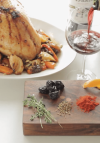 Jazz up your holiday dinner with Spanish Spiced Turkey, paired with Rioja wine!