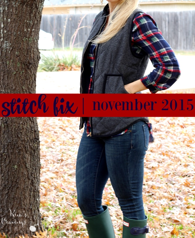 Enjoy the great finds from my Stitch Fix - November 2015!