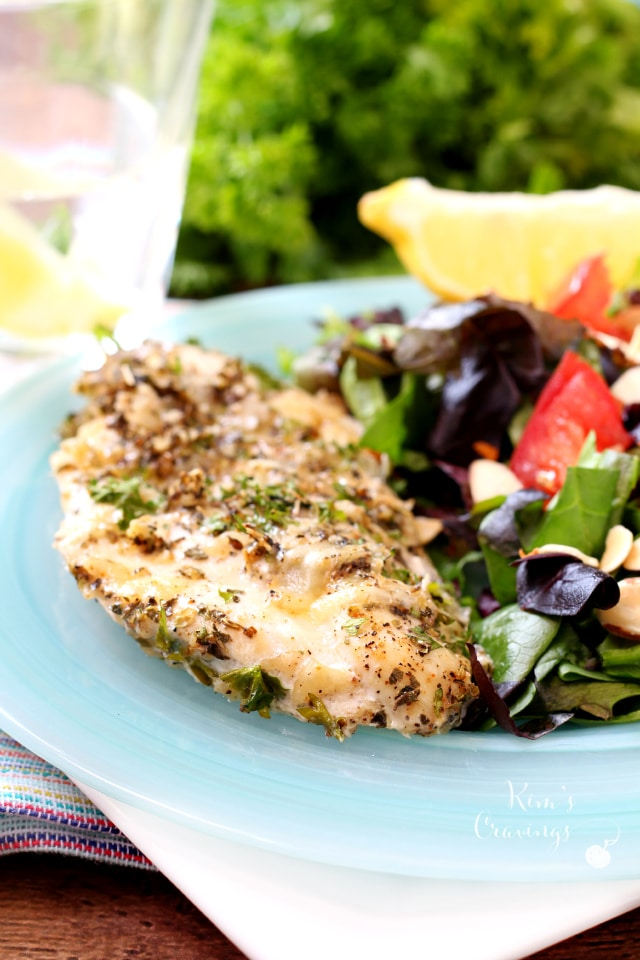 With a flavorful coating of Parmesan cheese and seasonings, Baked Italian Chicken is not only juicy and delish, but it's oven-ready in minutes!