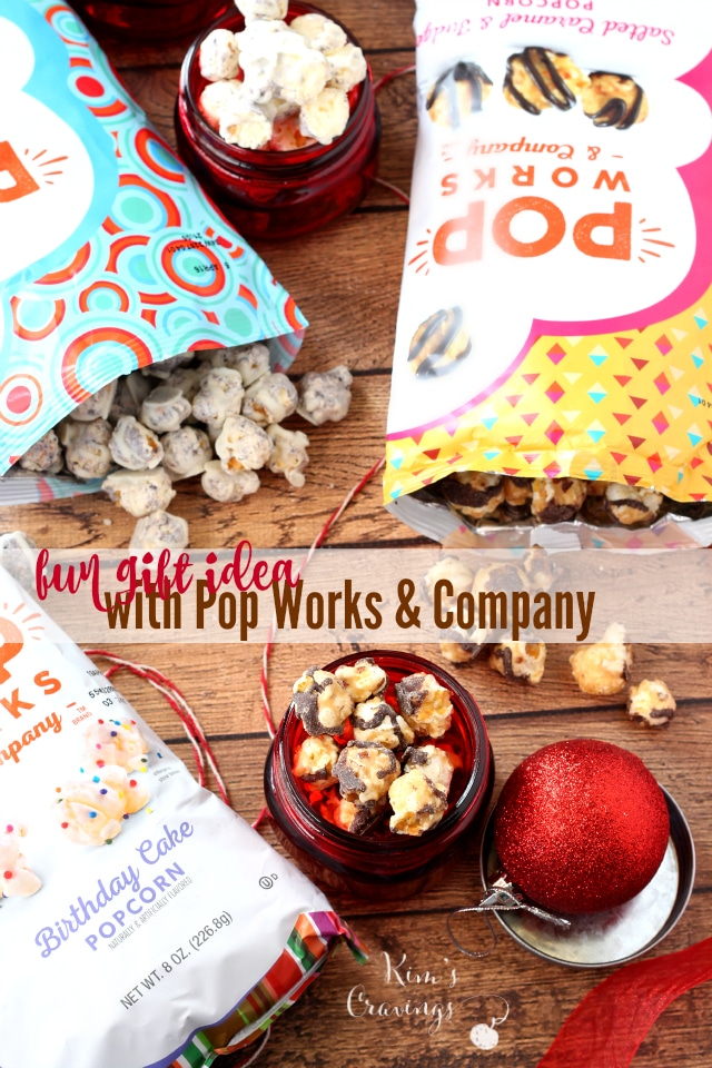 Easy, fun and very tasty Pop Works & Company gift idea- your friends, neighbors, coworkers, child's teacher and family are sure to love!