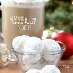 Almond Snowball Cookies