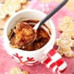 Gingerbread Microwave Mug Cake