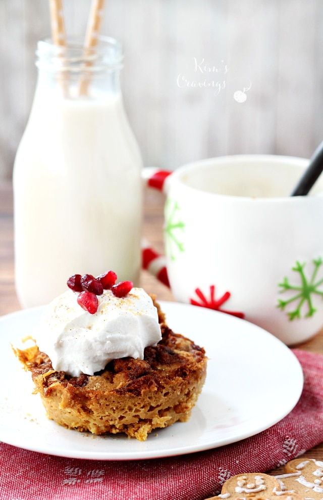 Gingerbread Microwave Mug Cake Kim S Cravings