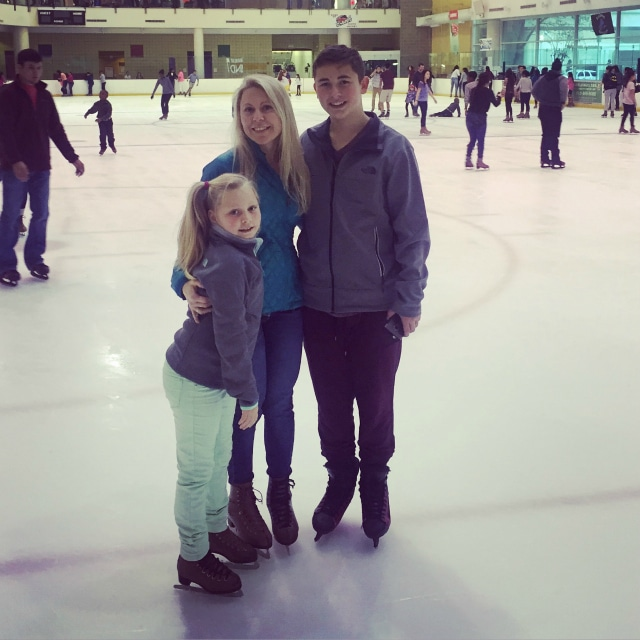 Ice Skating with the kids- Christmas 2015