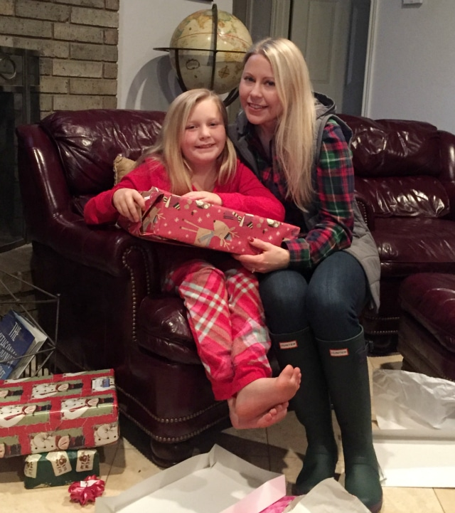 Kim and Madelyn- Christmas 2015