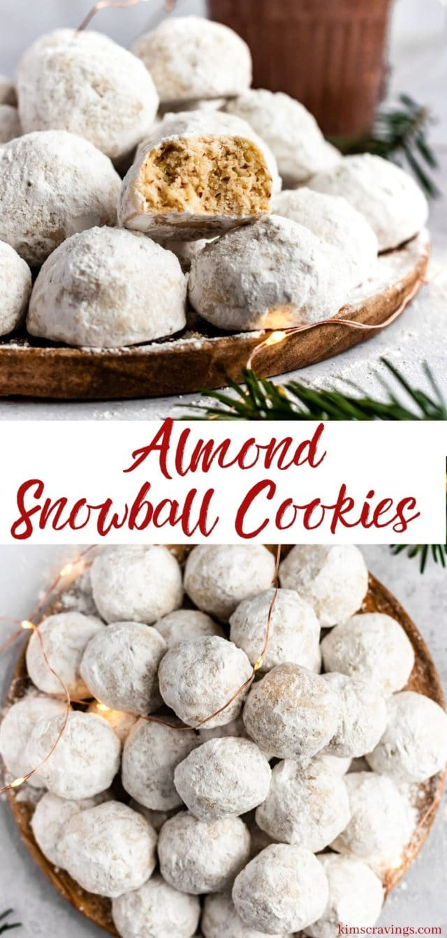 how to make almond snowball cookies