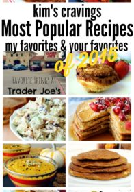 Kim's Cravings- Most popular recipes (reader favorites and Kim's favorites)
