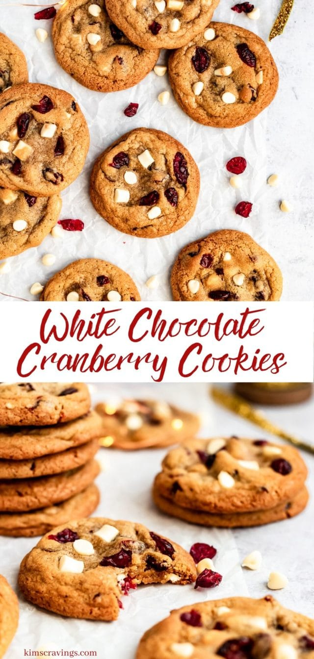 how to make the best cranberry cookies