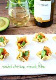 Roasted Shrimp Avocado Bites- the perfect no-fuss, incredibly tasty, crowd-pleasing finger food!