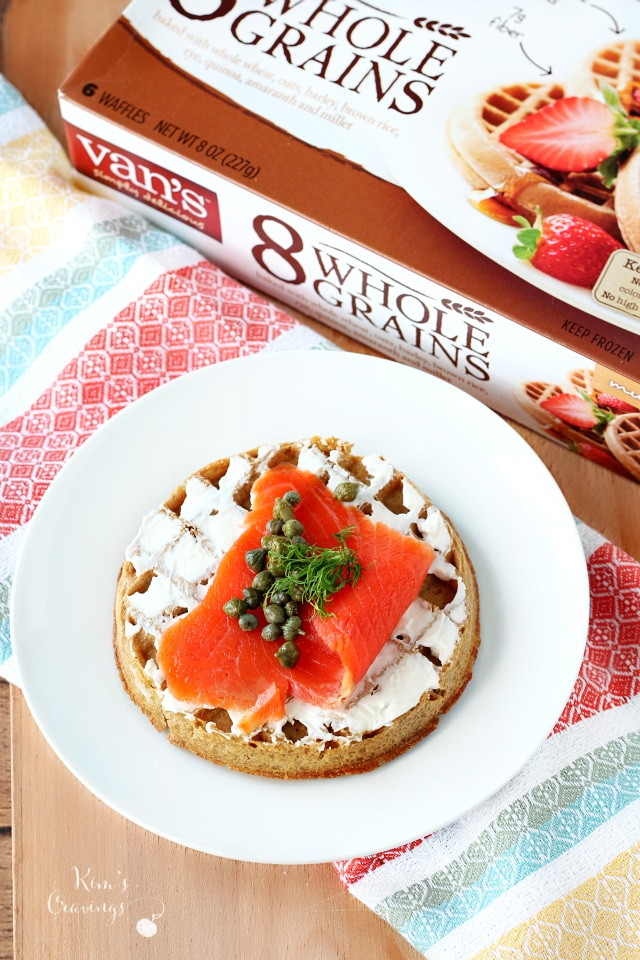 These crazy fun waffle bar ideas are brought to by Van's Foods.
