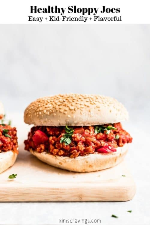 sloppy Joe recipe served on a buns