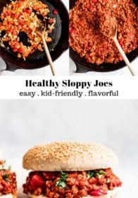 Healthy Sloppy Joes