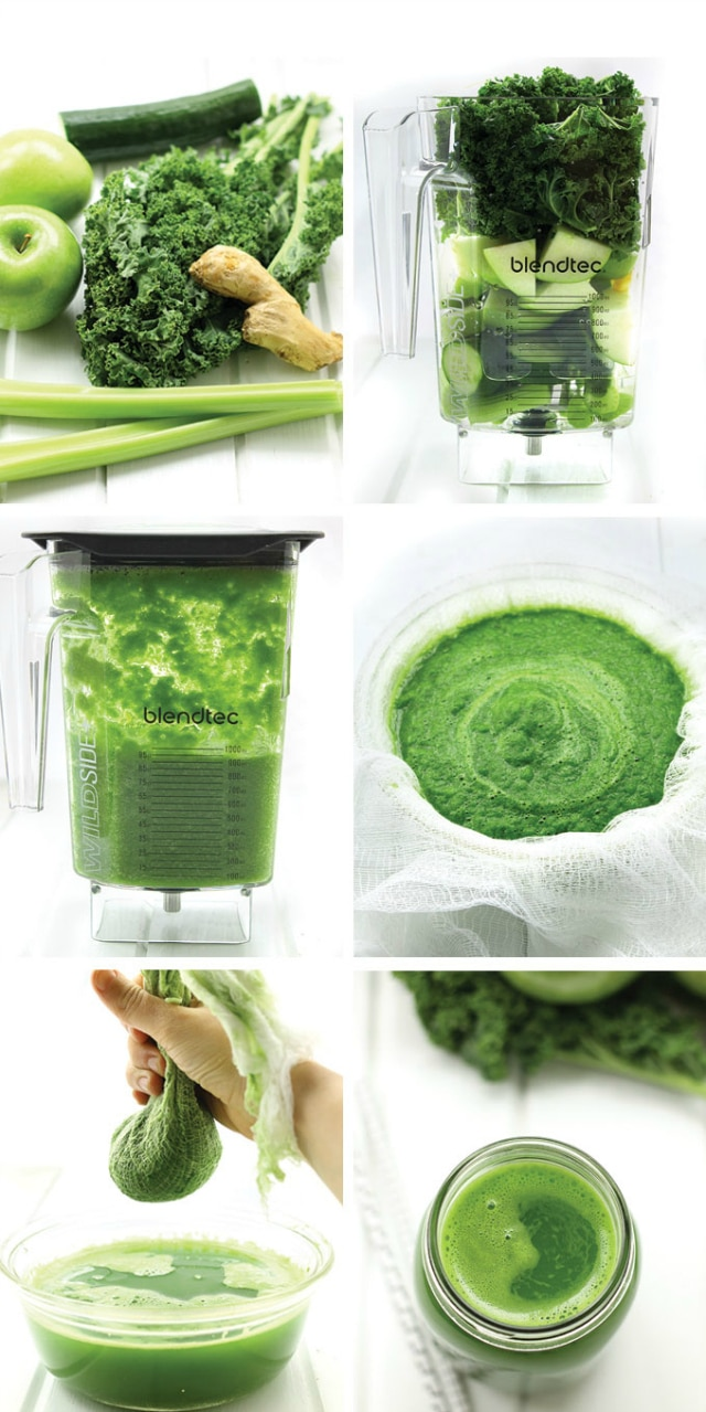 You can have green juice in minutes with this step-by-step tutorial on how to make a simple green juice in your blender.