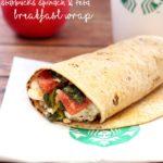 Copycat Starbucks Spinach & Feta Breakfast Wraps