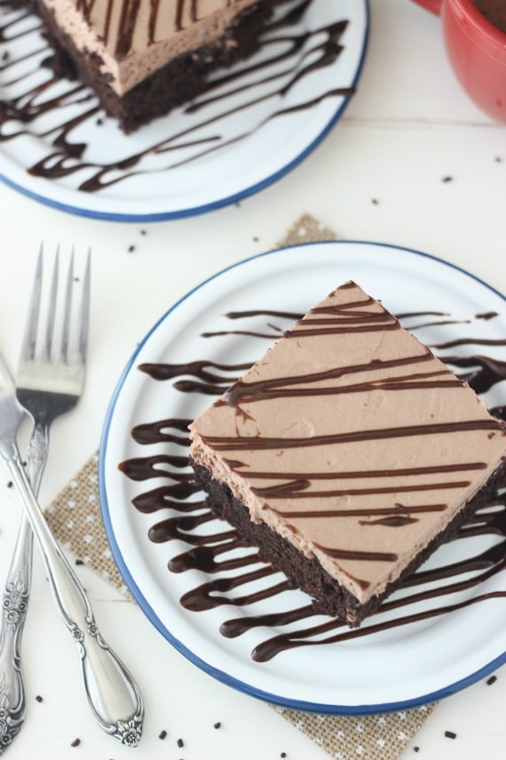 15 Cozy Hot Cocoa Dessert Recipes- Hot Chocolate Poke Cake