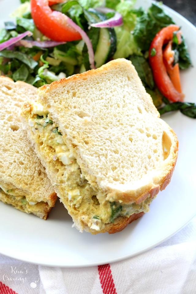 Southwestern Egg Salad A Tasty Tex Mex Twist On The Classic Egg Salad Recipe