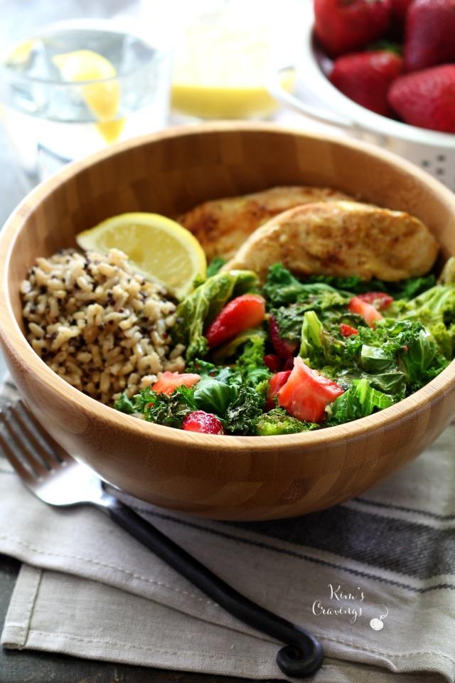 Dijon-Chicken Rice Salad Recipe — Dishmaps