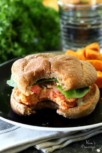 Caesar Salmon Burgers have all of the delicious classic flavors of my favorite salad in burger form!