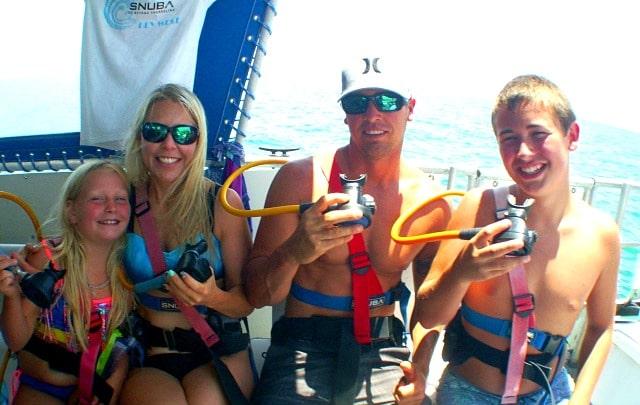 snuba diving in Key West