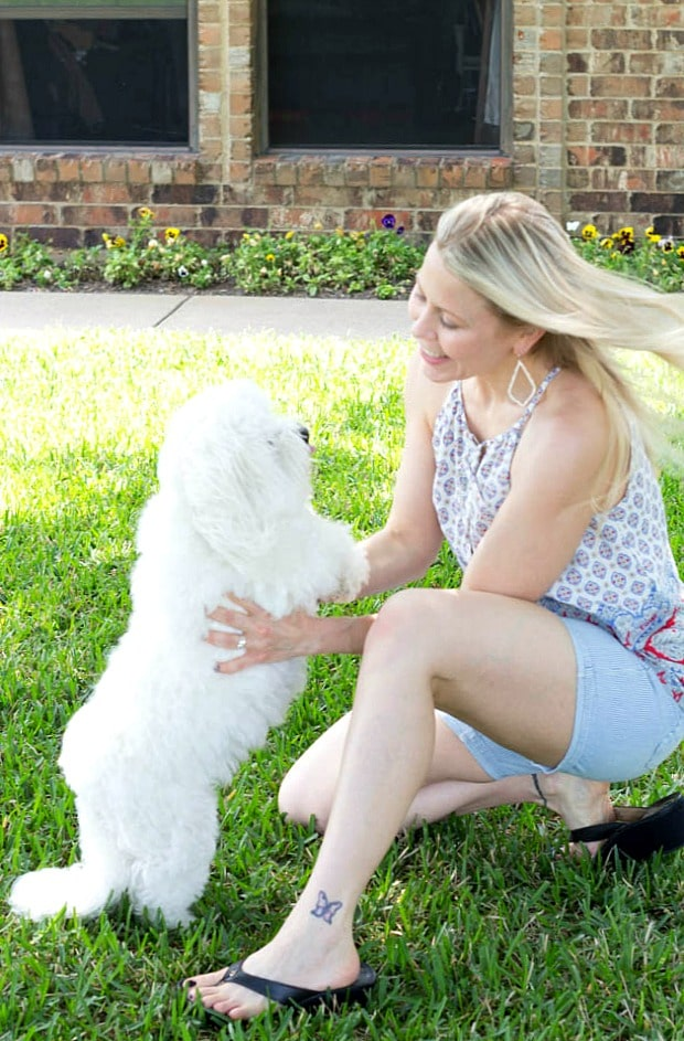 May 2016 Stitch Fix Review- Lillie Striped Cuffed Short by Dear John | 68.00