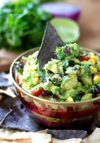 Southwestern Guacamole with bold, fresh flavors just might be my all-time favorite dip recipe. It doesn't get much better than avocado combined with favorite Southwestern ingredients.